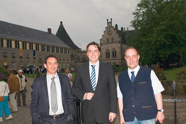 David Mc Allister zu Besuch in Bad Bentheim