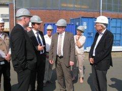 Björn Thümler besucht KCA Deutag und Bentec in Bad Bentheim